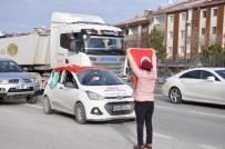 OSMAN KARAASLAN - 'Halep'e Yol Açın' Konvoyu Gölbaşı'nda Gözyaşlarıyla Karşılandı