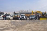 ALINUR AKTAŞ - İnegöl Belediyesi Karla Mücadeleye Hazır