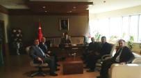 KAYSERI TICARET ODASı - KTO Yönetiminden Bürokrasi Ziyaretleri