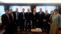 FATİH DÖNMEZ - Milletvekili Ilıcalı, Yabancı Yatırımcıları TBMM'de Kabul Etti