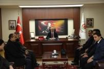 DIRAYET - Muş Kardeşlik Platformu Üyelerinden Vali Yavuz'a Ziyaret