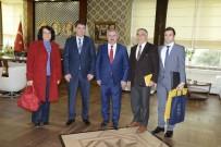HÜSEYİN ÜZÜLMEZ - PTT'den Başkan Baran'a Ziyaret