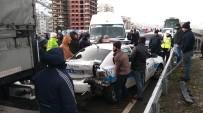Rize'de Buzlanma Zincirleme Trafik Kazasına Neden Oldu Açıklaması 8 Yaralı