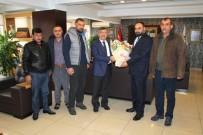 FARUK AKDOĞAN - Sanayi Sitesi Esnafından Başkan Akdoğan'a Teşekkür Ziyareti