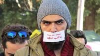 SURIYE DEVLET BAŞKANı - Suriyelilerin BM Ofisi Önündeki Halep Protestosunda Gerginlik