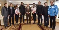 AHMET ÇELEBI - TCF'den Başkan Sekmen'e Ziyaret