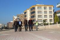 BİSİKLET YOLU - Torbalı'da Peyzaj Çalışmaları Hızlandı