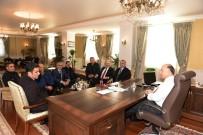 KALİTELİ YAŞAM - Türk-İş Konfederasyonu Erzurum Temsilcileri Vali Azizoğlu'nu Ziyaret Etti