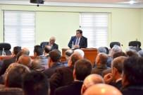 KÜRESELLEŞME - Üzümlü'de 2016 Yılı Değerlendirme Toplantısı Yapıldı