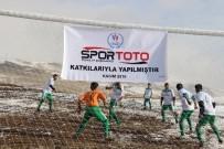MEHMET NURİ ÇETİN - Varto'da Futbol Sahası Açılışı