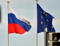 SEYAHAT YASAĞI - AB Konseyi'nden Rusya'ya yaptırım kararı