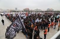 SOYKıRıM - ABD Büyükelçiliğine Yürümek İsteyen Grup İle Polis Arasında Gerginlik