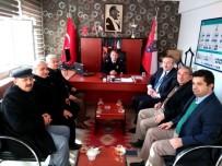 AK Parti Teşkilatından Çalışkan'a Taziye Ziyareti