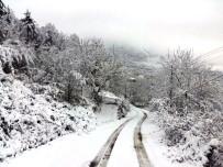Bartın'da 44 Köy Yolu Ulaşıma Kapandı