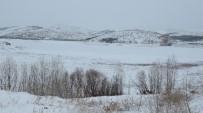 ŞEBEKE SUYU - Buz Tutan Altınapa Barajı Beyaza Büründü