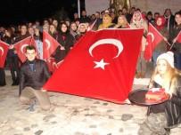 Çatalzeytin'de  'Teröre Hayır' Yürüyüşü Düzenlendi