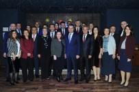 ENVER ÖZDERİN - Görev Yeri Değişen Vali Yardımcıları Ve Kaymakamlar Eskişehir'e Veda Etti