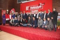 MEDYA ÇALIŞANLARI - Hakimiyet Gazetesi Kuruluş Yıldönümünde Birlik Mesajı Verdi