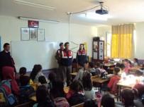 TRAFİK GÜVENLİĞİ - Jandarma'dan Öğrencilere Trafik Güvenliği Eğitimi