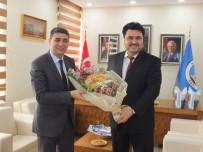YASIN ÖZTÜRK - Kaymakam'dan Havran Belediyesine Veda Ziyareti