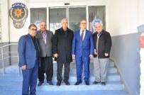METIN ŞENTÜRK - MHP İlçe Teşkilatından Emniyet Müdürlüğüne Ziyaret