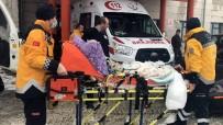 KOAH - Karda Mahsur Kalan Hastanın Yardımına Paletli Ambulans Yetişti