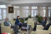 EMIN HALEBAK - Polis Teşkilatı'na Taziye Ziyaretleri