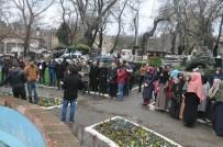 SINOP ÜNIVERSITESI - Sinop'ta İlahiyat Öğrencilerinden Halep Protestosu