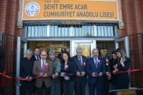 TAHSIN KURTBEYOĞLU - Söke Cumhuriyet Anadolu Lisesi'ne Şehit Emre Acar'ın Adı Verildi