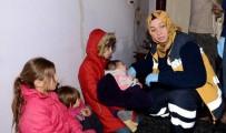 HARABE - Vakaya Giden Sağlık Ekipleri Suriyeli Ailenin Dramıyla Karşılaştı