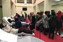 KAN GRUBU - Babaeski Meslek Yüksekokulunda Kan Bağışı Kampanyası