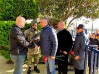 GARNIZON KOMUTANLıĞı - Çeşme'de Saldırıların Ardından Taziye Ziyareti