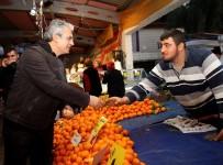 HÜSEYIN MUTLU - Cumhuriyet Pazar Yeri Kışa Hazır
