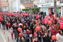 ABDULLAH ÖCALAN - İskenderun'da Teröre Lanet, Şehitlere Saygı Yürüyüşü