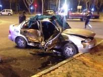 MEHMET CAN - Kahramanmaraş'ta Kaza Açıklaması 1 Ölü 9 Yaralı