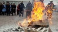 KAÇıŞ - Kız Yurdunda Yangın Tatbikatı Düzenlendi