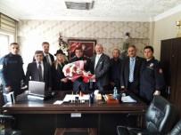 MUSTAFA KUTLU - MEBİDER'den Çevik Polisine Taziye Ziyareti