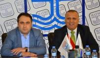MUSTAFA AKSOY - MHP İl Başkanı Aksoy, MATSO Başkanı Boztaş'ı Ziyaret Etti