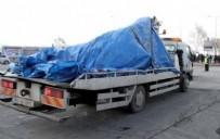 ŞEHİT ASKER - Saldırıda kullanılan araç, çekiciyle emniyete götürüldü