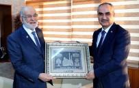 SAADET PARTISI GENEL BAŞKANı - SP Genel Başkanı Karamollaoğlu'ndan, Belediye Başkanı Aydın'a Ziyaret
