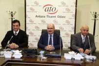 ANGİAD'dan ATO Yönetimine Ziyaret