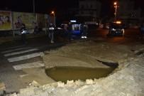 BITEZ - Bodrum'da Su Borusu Patladı, Ortalık Savaş Alanına Döndü