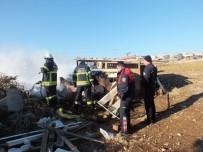SAMANLıK - Didim'de Samanlık Yangını Korkuttu