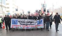 MEHMET ÖZÇELIK - Elazığ'da 'Teröre Lanet' Yürüyüşü