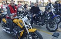Hamile Kadına Darp Olayının Mağduruna Motosikletli Destek