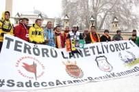 Karaman'da Taraftar Gruplarından 'Teröre Lanet' Yürüyüşü
