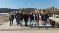 SAHİL YOLU - MHP'den Çukuraltı Sahil Yolu Projesine Destek