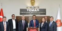 MUSTAFA DEĞIRMENCI - Muratpaşa Belediye Başkanı Uysal'da TEMAD'a Ziyaret
