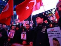 POLİS TEŞKİLATI - New York Polisi Times Meydanı'nda İstanbul saldırısı şehitlerini andı