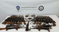 Şırnak'ta 25 Adet Kaleşnikof Silah Ele Geçirildi